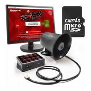 Buzina Que Fala Cartão Sd Muitos Sons + Software P Converter