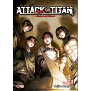 Manga, Kodansha, Attack On Titan Vol. 21 Ovni Press
