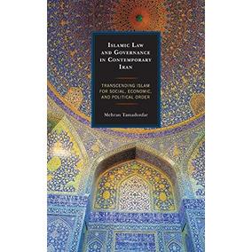 Livro Islamic Law And Governance In Contemporary Iran: Tran