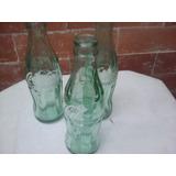 Botellita De Color Verde O Blancas De Coca Cola Antigua