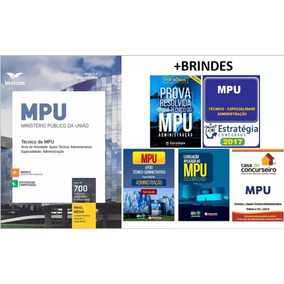 Apostila Digital Mpu 2017 - Técnico Administrativo + Brindes