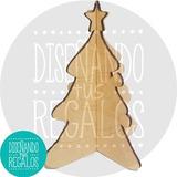 Árbol Adorno Navidad Decoracion X10u. P/pintar Nvd-005