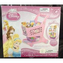 Carrinho De Supermercado Princesas Disney