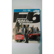 Rapido Y Furioso 6 Steelbook Bluray + Dvd Nuevo Sellado