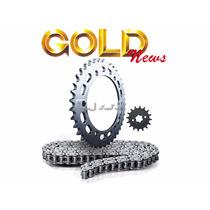 Kit Transmissão Relação Gold Aço 1045 - Honda Xre 300