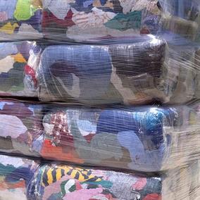 Trapo Mutilado De Camiseta Multicolor, Paca Con 25kg