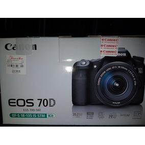 Cámara Fotografía Canon E05 70d