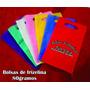 10 Bolsas De Frizelina Tipo Riñon 20x25