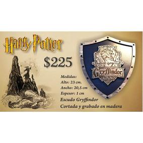 Harry Potter Gryffindor Escudo Hecho En Madera
