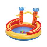 Piscina Playground Inflável De Castelo 170l