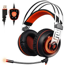 Sades A7 7.1 Surround Sound Stereo Gaming Headset Con Usb L