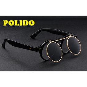 Oculos Redondo Sem Lente De Sol - Óculos no Mercado Livre Brasil dacf6c40b2