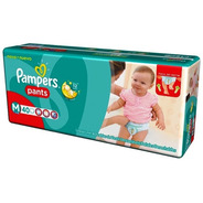 Pampers Pants Mediano De 40 Pañales X 2 Paquetes