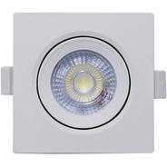 Kit 10 Luminária Spot Led 5w Dicroica Embutir Sanca Gesso