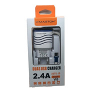 Carregador H'maston 2.4a F020 Duas Usb Charger