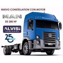 Volkswagen Constellation Motor Man 280hp 4x2 Alvisi S. A.
