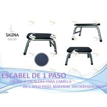 Ayudante Escabel De 1 Paso Para Camilla Nuevo Sauna Salud