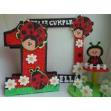Combos Fiesta Infantil Piñata,dispensador,figura,centro Mesa