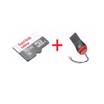 Cartão Micro Sd Ultra 32gb Sandisk Classe 10 48mb/s + Leitor