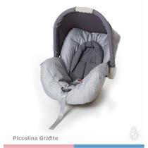 Capa Do Bebe Conforto Piccolina Galzerano Grafite