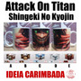 Caneca Attack On Titan - Eren Rivaille Shingeki No Kyojin