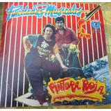 Pintura Roja Pinceladas Musicales Chicha Peru Popsike
