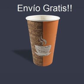 Vaso De Papel Impreso Coffee 16 Oz, 1,000 Piezas