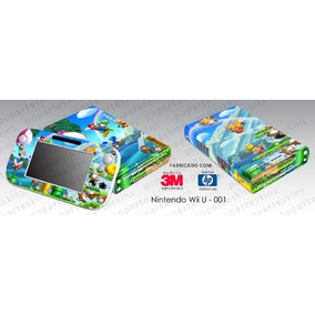 Skin Nintendo Wii U Adesivo New Super Mario