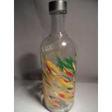 Botella Vacia Absolut Country Of Sweden Mango 750 Ml.