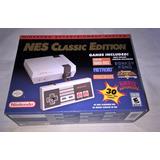 Consola Nintendo Mini Nes Classic Edition * Original Y Nueva