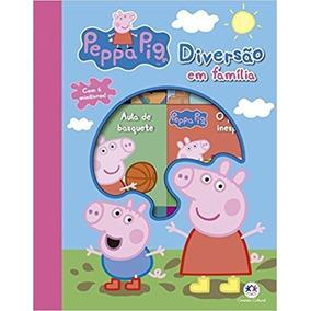 Box Com 6 Livros Peppa Pig - Diversao Em Familia