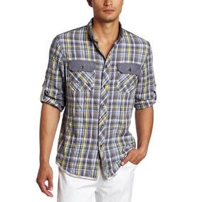 Camisa Casual De Caballero Calvin Klein Talla Chica 950$