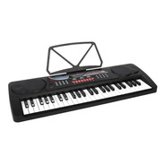 Teclado Musical 49 Teclas Con Micrófono Meike Mk4100