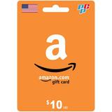 Tarjeta Amazon Gift Card 10 Dolares Digital - Prepagochile