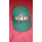Gorro De Los Miami Dolphins Nfl. Talle 7 (55,8cm)