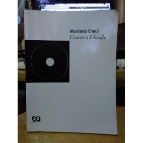 Convite À Filosofia Marilena Chauí - Ática - 2003 Capa Mole