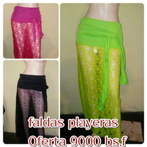 Faldas Y Pantalones Playeros Pareos Trajes De Baño