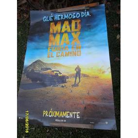 Afiche Cine Película Mad Max Furia En El Camino 3 D