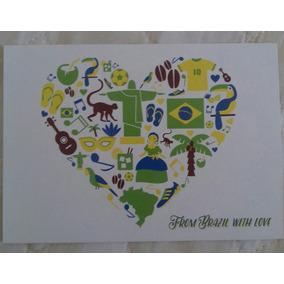 Cartão Postal From Brazil With Love