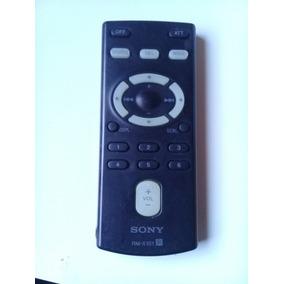 Controle Remoto De Toca Cd Sony Automotivo Rm-x151