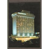 Cartão Postal Singapore Hilton, Singapura. Ótimo Estado.