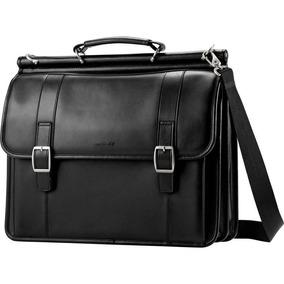 Samsonite Maleta Portafolio Business Piel Negro Laptop 15-16