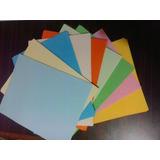Hojas De Colores Tamaño Carta