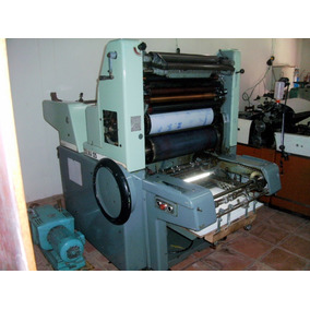 Máquina Gráfica Off Set Solna 125
