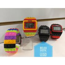 Reloj Digital Estilo Bloques