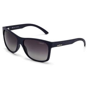 Oculos Sol Colcci Amber 5011i2633 Azul Couro Lente Cinza Deg ba066321e1