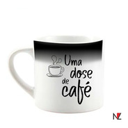 Xícara Mágica - Café 90ml Personalizável