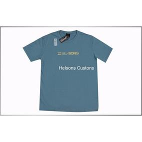Camisas Billabong Estampas Metal (tinta Especial) Prata/ouro