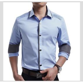 Camisa Slim Fit - Camisa Social Masculinas em Alagoas no Mercado ... 8f7f38ad6dcb6