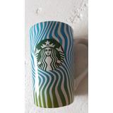 Termo Starbucks Coffee Taza De Cerámica Waves 355ml. New!